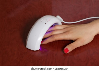 Lamp nails led manicure