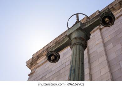 Lamp Pole outside Oakland 16th St Station - Oakland 16th Street Station - Oakland Central Station