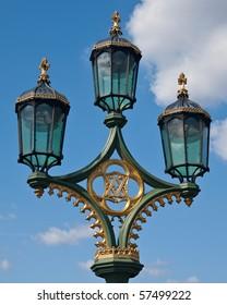 Lamp post in London