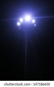 lamp spotlight  night