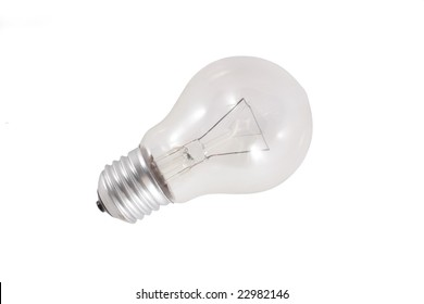 Lamp under the light background