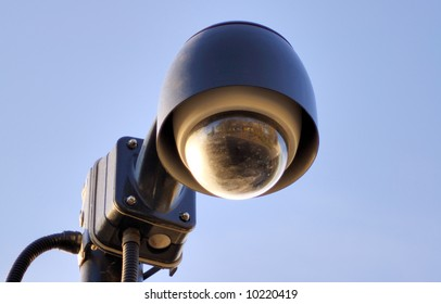 Lamp-a-like CCTV. Security cam
