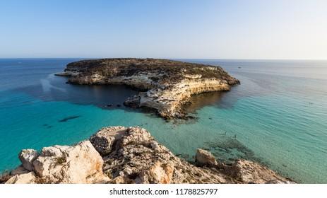 Lampedusa Isola dei Conigli - Italy Rabbit Island