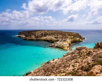 Lampedusa - Isola dei Conigli - Rabbit Island