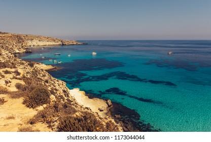 Lampedusa - Italy - Spiaggia dei Conigli.