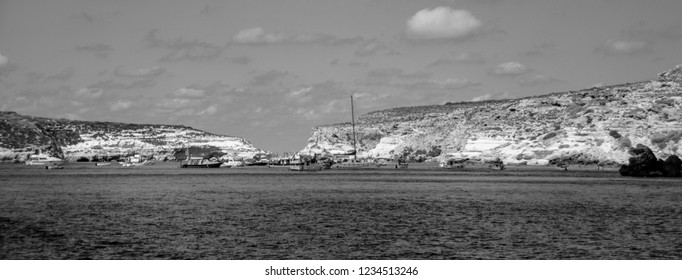 Lampedusa's blue water