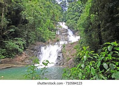 Lampi waterfall Thai Muaeng attraction for tourist