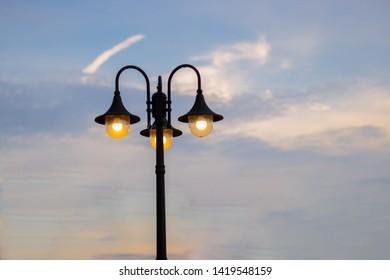 Lamppost, streetlight