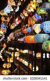 Lamps in a little Store