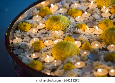 Lamps at Malayalee Wedding Ceremony