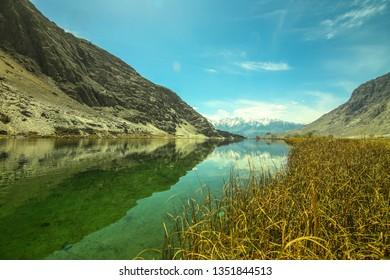 Lamsa Lake ( Blind Lake ) Skardu, Pakistan.
