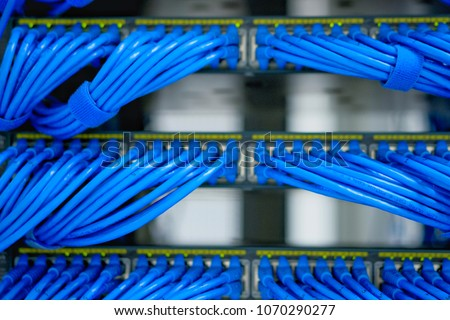 Awesome Lan Cable Wiring Networking Network Server Stock Photo Edit Now Wiring Digital Resources Remcakbiperorg