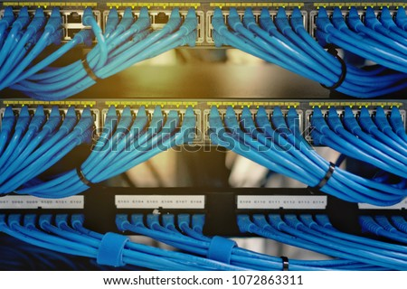 Magnificent Lan Cable Wiring Networking Network Server Stock Photo Edit Now Wiring Digital Resources Remcakbiperorg