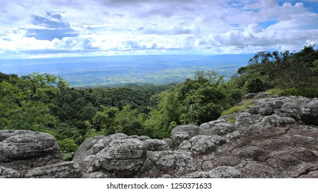 Lan Hin Poom Viewpoint at Phu Hin Rong Kla National Park in Phitsanulok Thailand Public attractions
