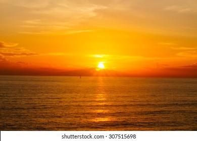 Lana Island Sunset in Thailand