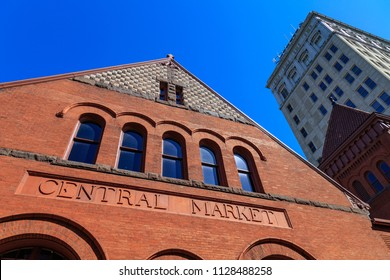 Lancaster, PA, USA - April 11, 2015: The Lancaster Central Market is a public market located in Penn Square in Lancaster, Pennsylvania.