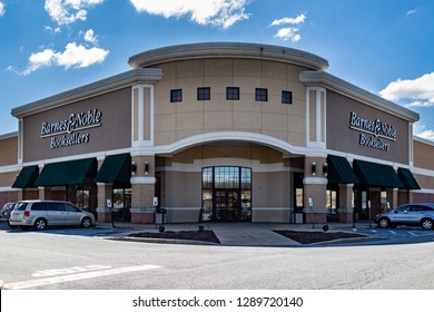 Lancaster, PA, USA - March 5, 2018: Barnes & Noble is a large bookseller with over 630 retail stores in all 50 U.S. states.