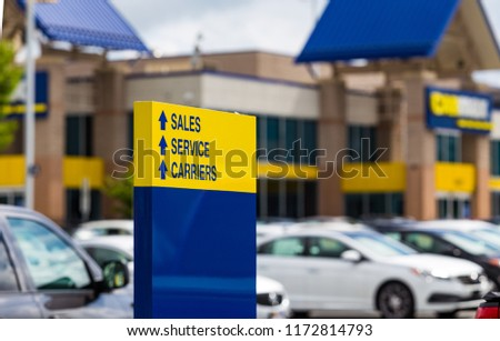 Used Car Dealerships In Lancaster Pa >> Lancaster Pa Usa September 2 2018 Stock Photo Edit Now 1172814793