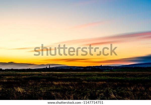 Lancaster at sunrise