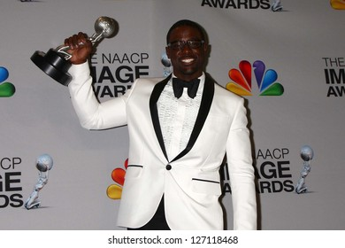 Lance Gross at the 44th NAACP Image Awards Press Room, Shrine Auditorium, Los Angeles, CA 02-01-13