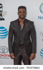 Lance Gross attends the 48th annual NAACP IMAGE AWARDS at the Pasadena Civic Auditorium on February 11, 2017 in Pasadena, California - USA