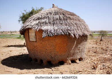 land construction in a African village