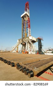 A land drilling rig.