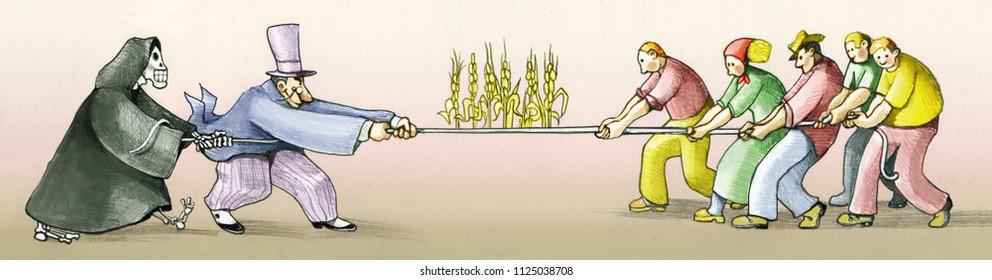 land grabbing stole land to farmetrs