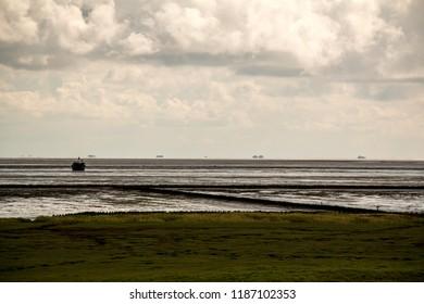Land reclamation on Amrum