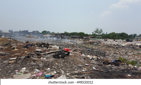 Land of Rubbish in Indonesia Landfill