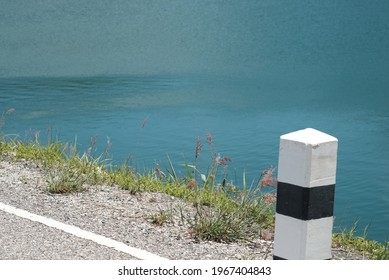 land scape lake view for background