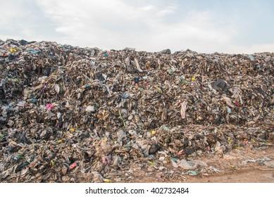 Landfill in city,Thailand