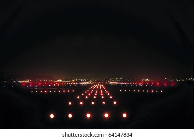 Airport Runway Lights Images, Stock Photos & Vectors