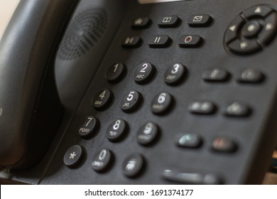 landline of an office or workplace where there is internal communication