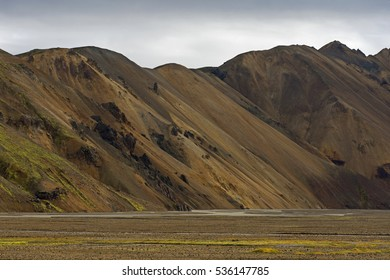 Landmannalagar Mountains in Iceland