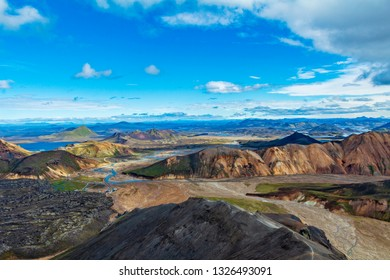 Landmannalaugar iceland mountains