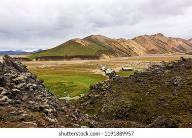 Landmannalaugar nature reserve in the heart of Iceland