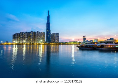 Landmark 81 is a super-tall skyscraper currently under construction in Ho Chi Minh City, Vietnam. Landmark 81 is the tallest building in Vietnam and the 14th tallest building in the world