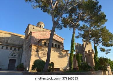 The landmark building Church of St. Jaume, Alcudia, Majorca.