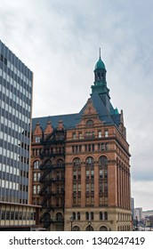 landmark city hall and municipal building in downtown milwaukee wisconsin