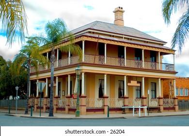 Landmark historical building, Queensland, Australia