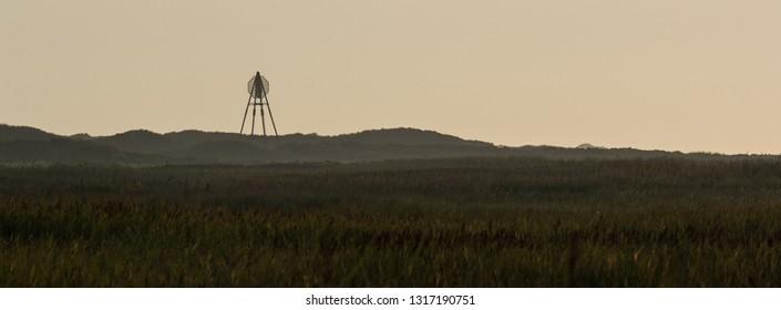 Landmark on Ameland wadden island holland