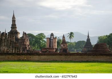 landmark of sukhothai historical park