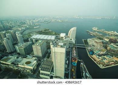 Landmark tower, Yokohama Japan, Minato Mirai