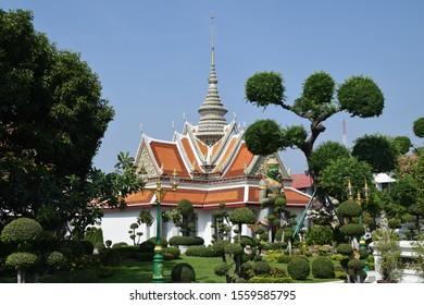 Landmark Wat Arun, Bangkok, Thailand