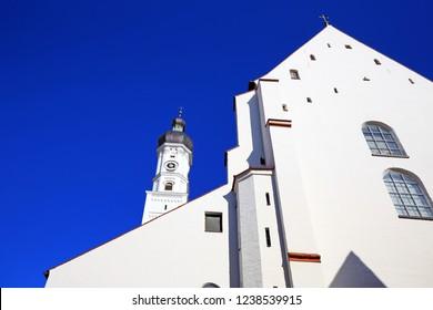 Landmarks of the city Landsberg am Lech