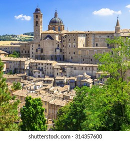 Landmarks of Italy - Urbino, UNESCO site