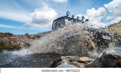 Photo of Landrover river crossing