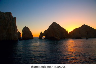 Land's End and The Arch in Cabo San Lucas, Mexico