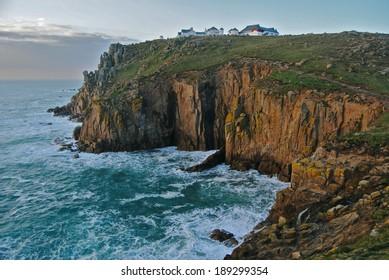 Land's end cliff